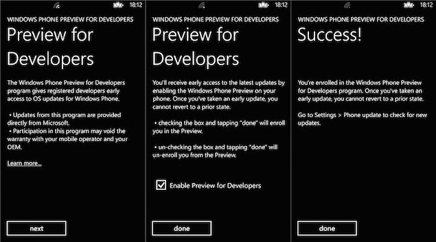 How to download the free developers Windows Phone 8.1 Preview