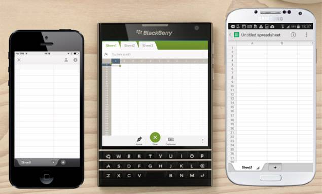 What are the reasons for Blackberry to launch square-shaped phone?