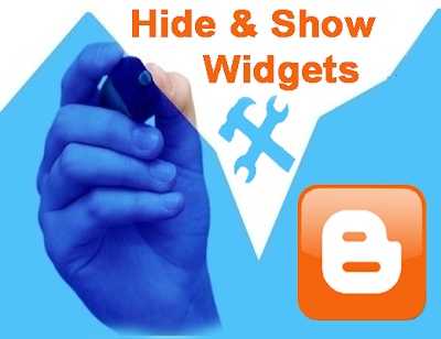 Hide/Show Blogger Widgets in Homepage/Post/Static/Archive pages in Blogger Blog