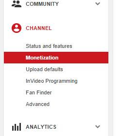 How to Monetize Your Youtube Channel By Adding Adsense