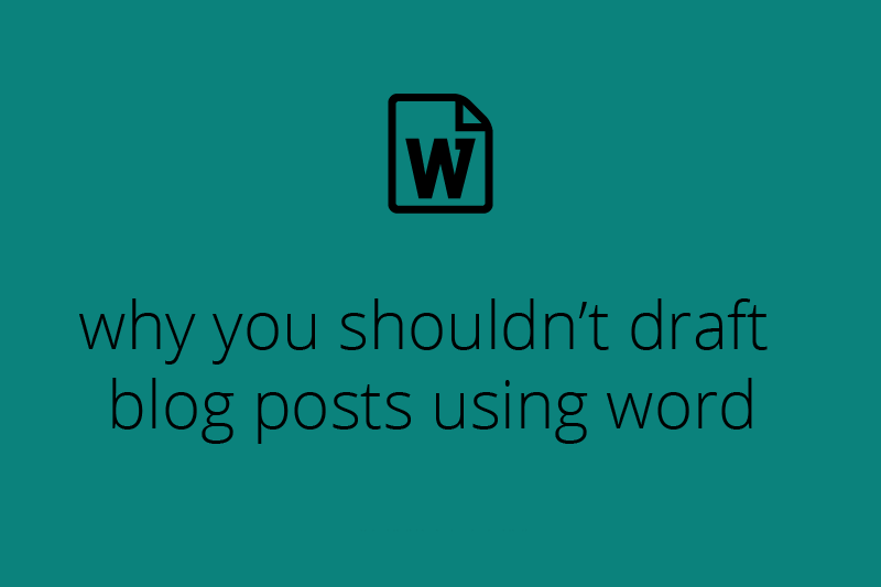 What Are The Problems If You Publish On Blog Using MS Word