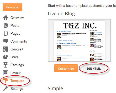 How to Create Menu with Sub-menu For Blogger Without Any Scripts