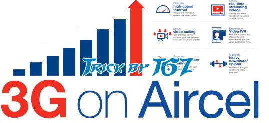 Aircel 3G Unlimited Internet With 2G Recharge Latest Trick 2015 - [100% Working]