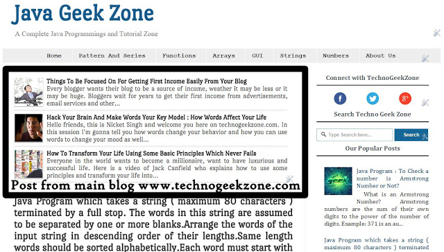 How To Show Particular Label Posts Of One Blog In Another Blog? - [Solved]
