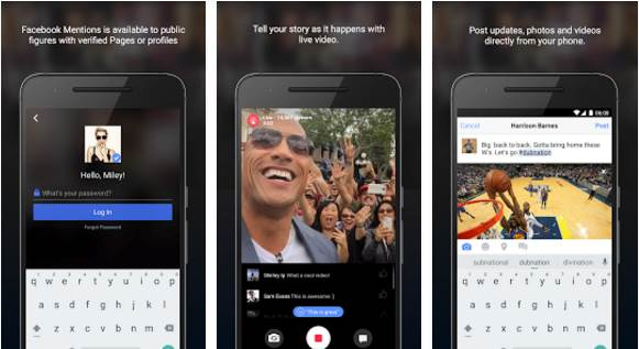Facebook Mentions APK Latest Version 3.7 Direct Download