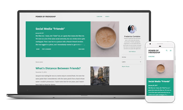 Blogger Updated New Templates with Post Excerpts
