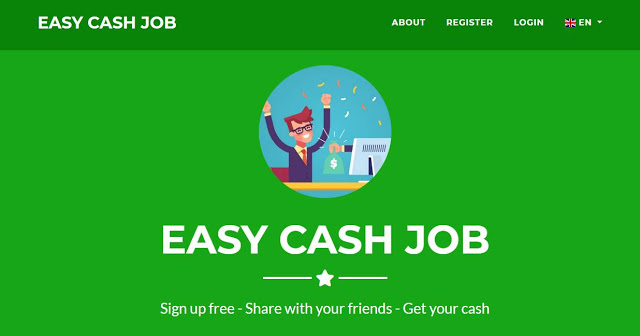 Easy Cash Job Review | easycashjob.com is Scam or Legit?