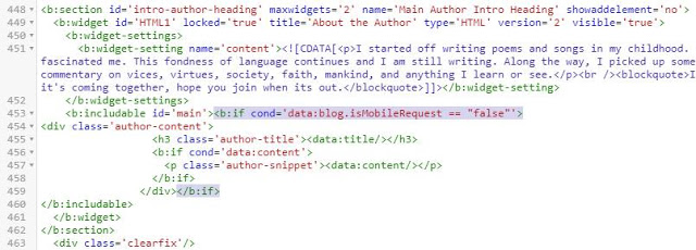 New Method to Hide Widget and JavaScript in Blogger Mobile or Desktop View