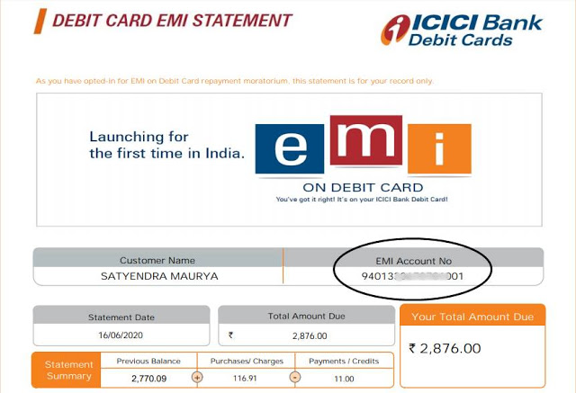 [Solved] How to Pay ICICI Debit Card EMI After Due Date?