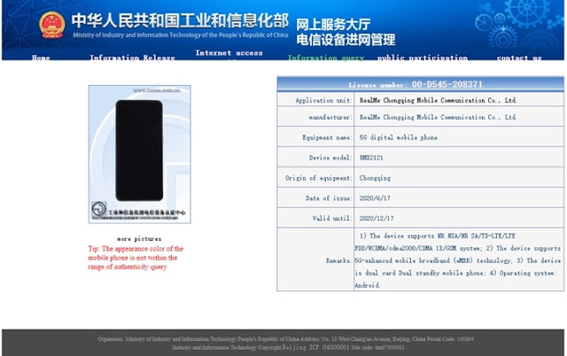 TOP 10 Realme X3 Pro Specs and Design Revealed by TENAA