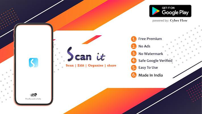 Scan It - Best CamScanner Alternative   Best Document Scanner Made in India