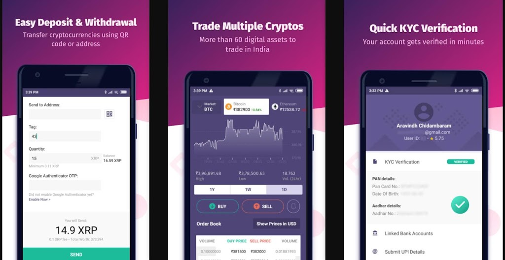 Top 9 Apps to Buy Cryptocurrencies in India